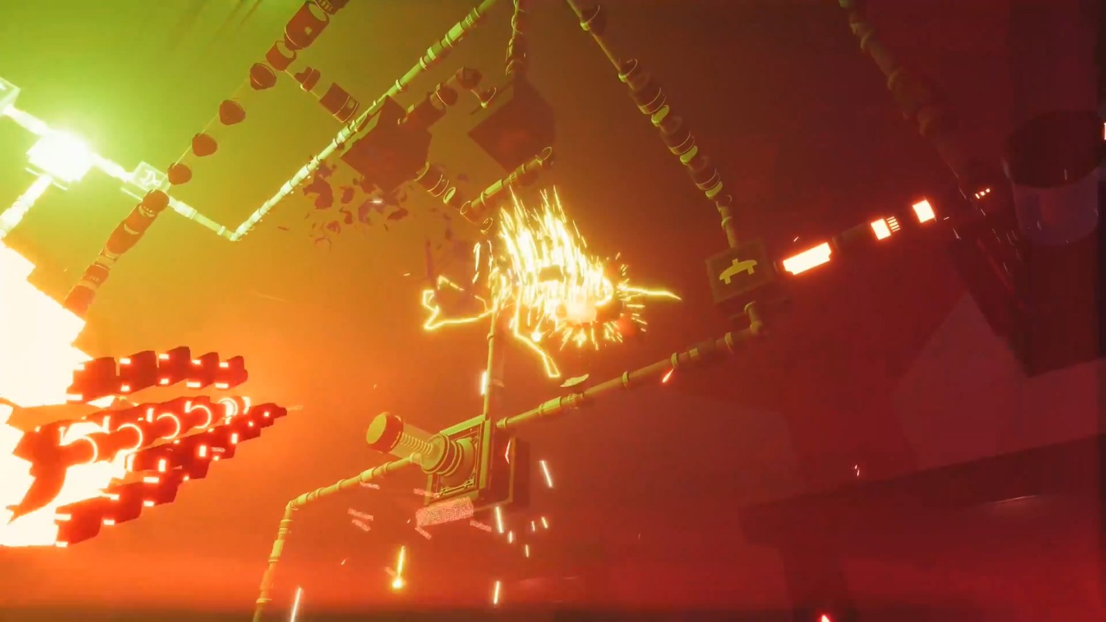 类恶魔城黑客冒险游戏《再编译》8月19日登陆PS5/XSX/S/PC