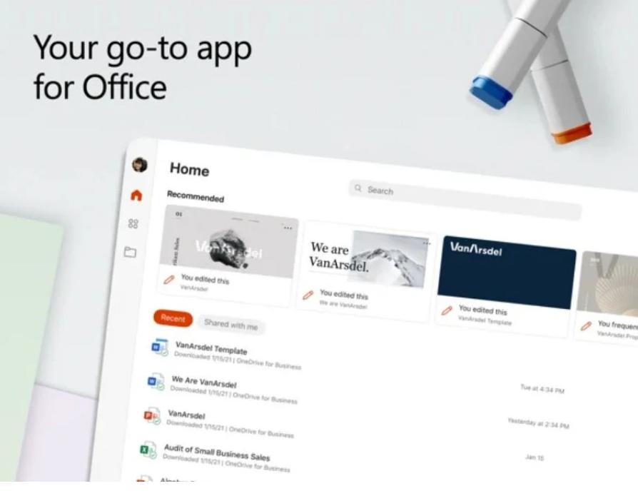微软发布 iOS 版 Office  2.51 预览版更新 进一步改进 PDF 阅读